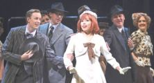 Blair, Rider-Shaw & chorus of SHAW's 42nd Street