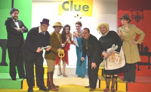 """'CLUE"""" cast"""
