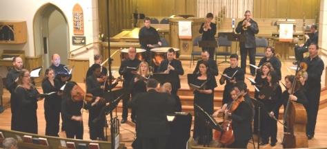 The mixed orchestra/choir OAKVILLE ENSEMBLE