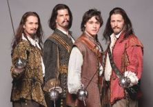Goad, Shara, Humphrey & Abbey -  the musketeers