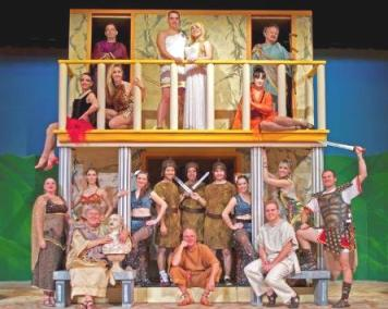 The folks of Rome, circa 175BC; according to the Theatre Ancaster players
