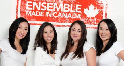 The talented quartet of ENSEMBLE...
