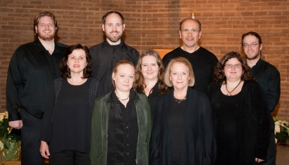 The choir members of Musikay