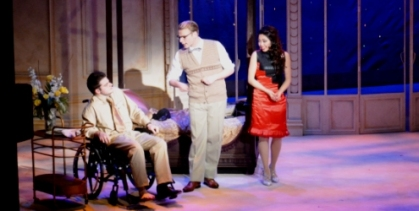 Trottier, MacCormac and Truong; in DIRTY ROTTEN SCOUNDRELS