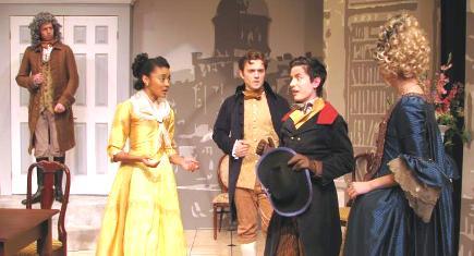 """Codger,Cecilia,Beaufort, Jack;  & Smatters' back"