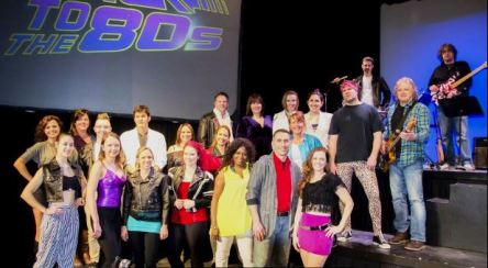 The BACK TO THE 80's Cast