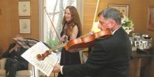 Darvarova & Corbone performing