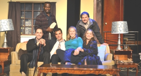 the Miss'a Players cast of BAREFOOT IN THE PARK