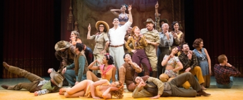 """CRAZY FOR YOU"", cast members"