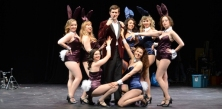 "the ""HEF"" and his bunny coterie (HUGH & I; 2014)"