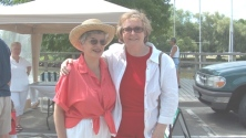 Terry & ANN; celebrating Canada Day in Bronte