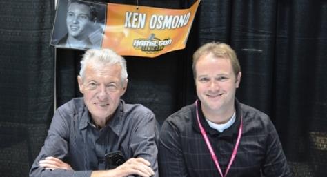 Eddie Haskell, aka Ken Osmond @ Comic Con