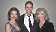 Rachelle Kelly; Emilio Fina & Connie Smith...post-recital