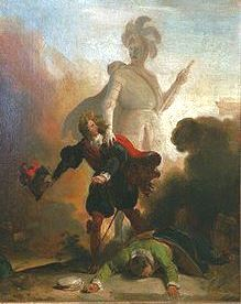 Fragonard's famous Don Juan & the threatening monument [circa 1832]