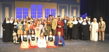 The [large] cast of SOUND OF MUSIC