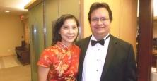 Stephanie Cheng & OCO conductor Charles Demuynck