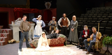 The Scarborough Theatre Guild's MUMBERLEY cast