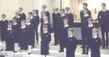 The choir performing in Waterdown