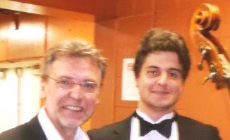 Sobrino & Max Mauricio-Cardilli; post-concert