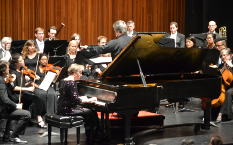 soloist Janina Fialkowska interpreting Chopin with the H.P.O.