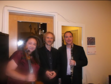 Mercer; Longwoth & Yehuda; post-concert