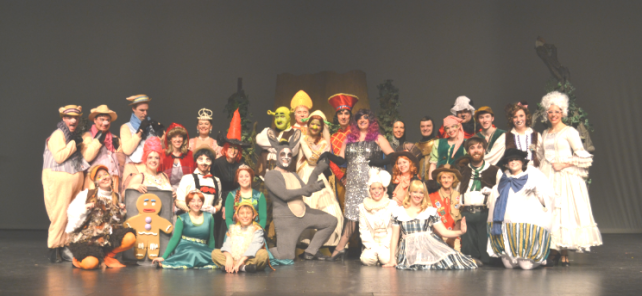 the amazing cast of SHREK & their costuming