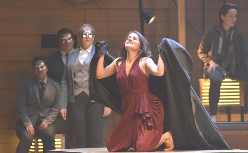 """Irina Medvedeva as """"Morgana"""" in ALCINA"""