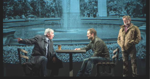 "the political protagonists debating in ""CHIMERICA"""