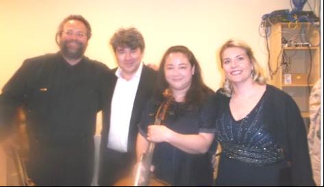 Berick; Burashko; Rachel Mercer & Shannon Mercer-recitalist