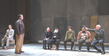 "Ado, Hughes, Matemoros, Nasmith, Lancaster, Fernandes & Dennis on-stage in ""VICHY"""