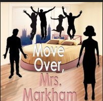The original playbill for MOVE OVER, Mrs. Markham