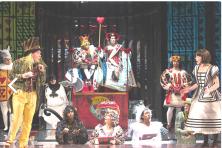 the cast of ALICE in WONDERLAND