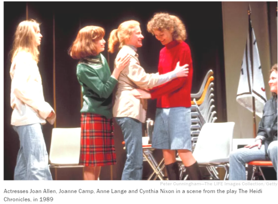 The original off-Broadway cast of the HEIDI CHRONICLES