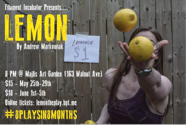 LEMON's creative play poster