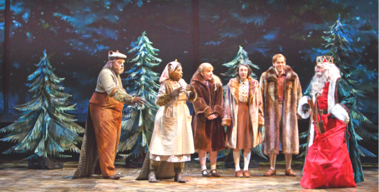 the performing sextet of The Lion, the Witch & the Wardrobe