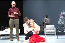 "Matamoros; Morris; Gauthier & Oladejo in ""A DOLL'S HOUSE"""