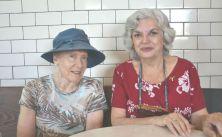 Ann Summers Dossena & OAR editor -Terry Gaisin @ SUMACH EXPRESSO