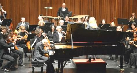 Goodyear interpreting Brahms with the HPO