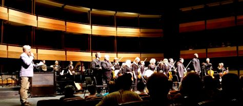 the Kitchener-Waterloo orchestra in a preview performance