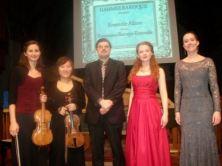 Onen-Lapointe; Shin; Pidgorski; Klassen & Zantingh - post concert