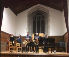 the Penderecki musicians on stage at McMaster