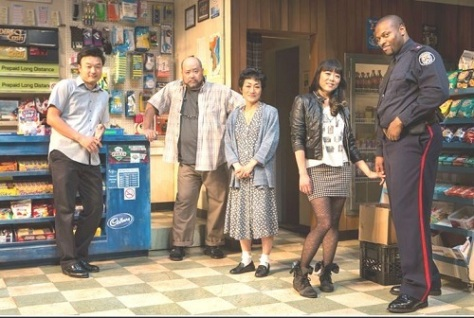Choi; Lee; Yoon; Kung & Sills, of KIM'S CONVENIENCE