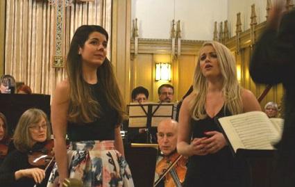 Laengert & Semkiw singing Delibes 'Flower Duet'